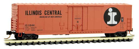 Micro Trains 181 00 080 N, 50' Standard Box Car, Illinois Central, IC, 11644