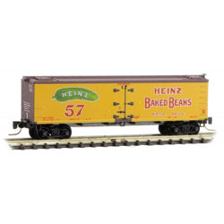 Micro-Trains 518 00 680 Z 40' Wood Reefer, Heinz Yellow Series Car 6, H.P.F.L., 3015