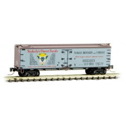 Micro-Trains 518 00 740 Z 40' Reefer, Farm To Table Series, Car 4, Stokely's Finest Foods