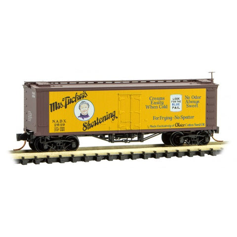MTL 518 00 760 Z 40' Double Sheathed Wood Reefer, Farm To Table Reefer Series, Car 6, NADX, 2649