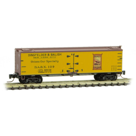 Micro-Trains 518 00 770 Z 40' Wood Reefer, Farm To Table Reefer Series, Car 7, DABX, 109