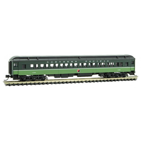 Micro-Trains Line 145 00 321 N 78' Heavyweight Paired-Window Coach Car, NP, 1352