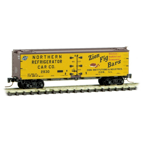 Micro-Trains 518 00 800 Z 40' Wood Reefer, Farm To Table Reefer Series, Car 10, NRCC, 2930