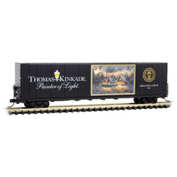 Micro-Trains 102 00 809 N 60' Box Car, Thomas Kinkade Painter of Light Series, Car 9