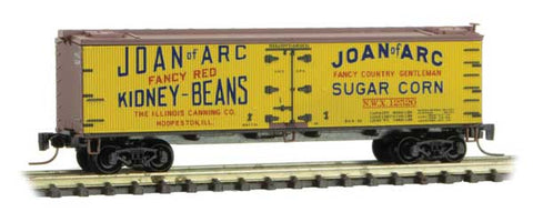 Micro-Trains 518 00 720 Z 40' Wood Reefer, Farm To Table Series, Car 2, Joan of Arc, NWX, 12520