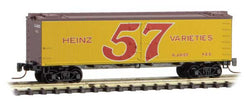 Micro Trains 518 00 660 Z 40' Wood Reefer, Heinz Yellow Series Car 4, HJHCo, 466