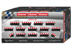 Carrera 20580 Digital 1:24, Digital 1:32, Evolution, Outside Shoulders High Banked Curve 4/15 degree