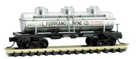 Micro-Trains 066 00 110 N 39' Single Dome Tank Car, Grape to Glass Series, Car 2, GATX, 1112