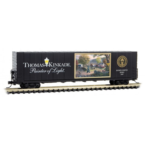 Micro-Trains 102 00 811 N 60' Box Car, Excess Height, Thomas Kinkade Painter of Light Series, Car 11