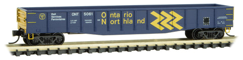 Micro-Trains Line 105 00 191 N 50' Steel Side, 14 Panel, Fixed End Gondola, ONT, 5061