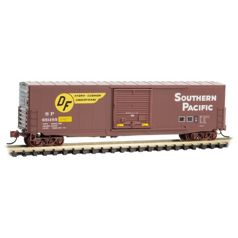 Micro Trains 180 00 171 N, 50' Standard Box Car, Southern Pacific, SP, 651485