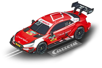 Carrera 64132, GO!!!, Electric Slot Car, Audi RS 5 DTM, R. Rast, No. 33
