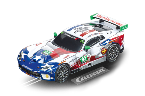 Carrera 64160, GO!!!, Electric Slot Car, SRT Viper GT3-R, Ben Keating Team, No. 93