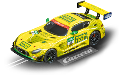 Carrera 64169, GO!!!, Electric Slot Car, Mercedes-AMG GT3, MANN-FILTER Team HTP, No. 47