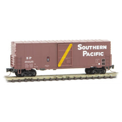 Micro-Trains Line 503 00 242 Z Scale, 40' Standard Box Car, Southern Pacific, SP, 191825