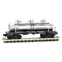 Micro-Trains 066 00 150 N, 3 Dome Tank Car, Grape to Glass Series, Car 11