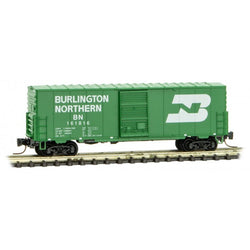 Micro-Trains Line 503 00 202 Z Scale, 40' Standard Box Car, Burlington Northern, BN, 161816