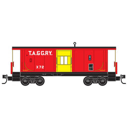 Micro-Trains Line 130 00 270 N, 31' Bay Window Caboose, Tennessee Alabama Georgia, TAG, X72