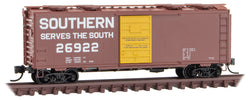 Micro-Trains 020 00 257 N 40' Standard Box Car, Single Door, Southern, SOU, 26922