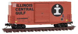 Micro-Trains Line 101 00 150 N 40' Hy-Cube Box Car, Single Door, Illinois Central Gulf, ICG, 480069