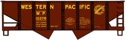 Accurail 2436 HO, USRA Twin Hopper, Western Pacific, WP, 10376