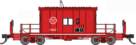 Bluford Shops 24310 N, Transfer Caboose, Short Roof, Missouri Pacific, MP, 11922