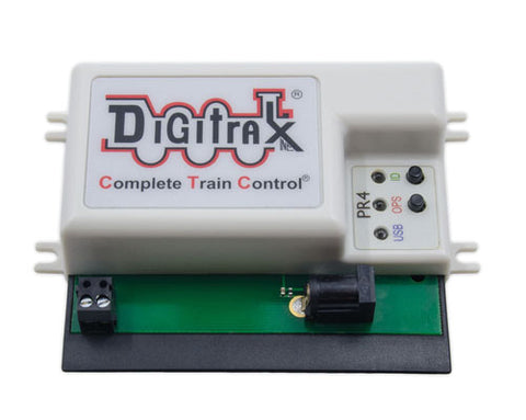 Digitrax PR4 USB to LocoNet Interface with Decoder Programmer