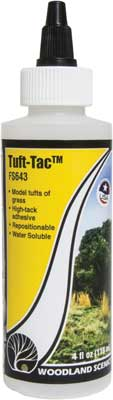 Woodland Scenics 643 Tuft- Tac Glue, For Grass Tufts, 4oz