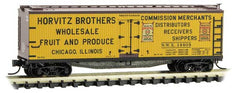 Micro-Trains 049 00 870 N 40' Double Sheathed Wood Reefer, Farm To Table Reefer Series, Car 11