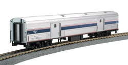 Kato 35-6203-1 HO, Budd 73' Baggage Car, Phase IVb, Amtrak, AMTK, 1231