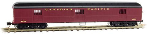 Micro Trains 149 00 080 N 70' Heavyweight Horse Car, Canadian Pacific, #4502