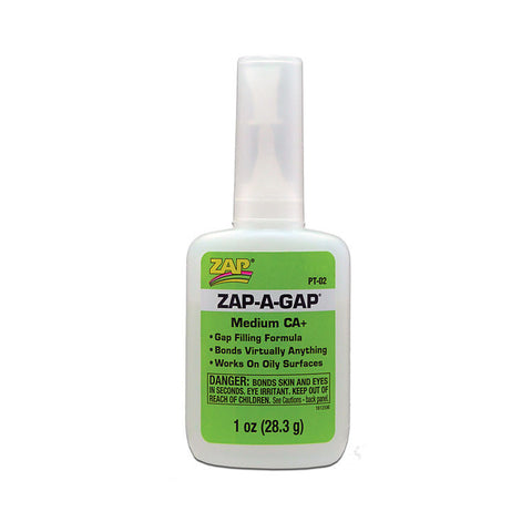 Zap-A-Gap 431 Medium CA+, Gap Filling, 1 Oz.