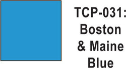 Tru Color TCP-31 Boston and Maine Blue Paint 1 ounce