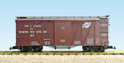 USA Trains R1457A G, OUtside Braced Wood Boxcar, Chicago Northwestern, CNW, 78712