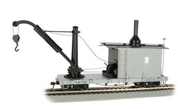 Bachmann 26901 On30, Derrick Car, MOW, Grey