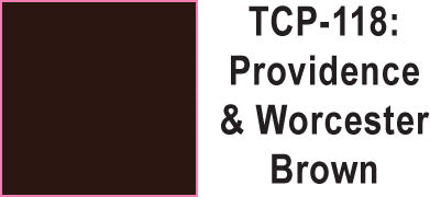 Tru Color TCP-118 Providence and Worcester Brown Paint 1 ounce