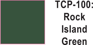 Tru Color TCP-100 Rock Island Green Paint 1 ounce