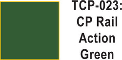 Tru Color TCP-23 CP Rail Action Green Paint 1 ounce