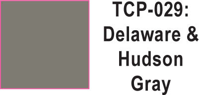Tru Color TCP-29 Delaware and Hudson Gray Paint 1 ounce