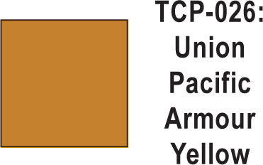 Tru Color TCP-26 Union Pacific Armour Yellow Paint 1 ounce
