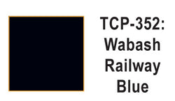 Tru Color TCP-352 Wabash, Blue, Paint 1 ounce