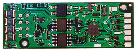 Train Control Systems 1343 LL8 DCC Replacement Decoder Board, 6 Function