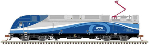 Atlas 40 004 256 N, ALP-45DP, ESU Sound DCC, Amtrak, AMT, 1355