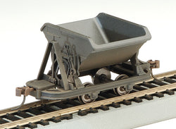 Bachmann 29802 On30, V Dump Car, Unlettered, Gray, 3 Pieces