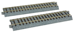 "Kato 2-193 HO Unitrack Straight, 5-7/8"", 149mm, 2 per Package"