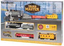 Bachmann 00761 HO, Yard Master Steam Set, Union Pacific 0-6-0, 2 Cars