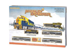 Bachmann 24023 N, McKinley Explorer, Train Set, Alaska Railroad