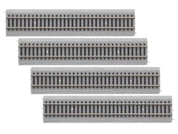 "Lionel 871818020 HO Magnelock Track 9"" Straight, 4 Pieces,"