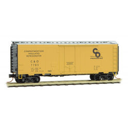 Micro-Trains Line 021 00 600 40' Standard Box Car, Plug Door, Chesapeake and Ohio, CO, 7783