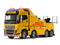 Tamiya 56362, 1:14 Scale, Volvo FH16 Globetrotter 750 8x4 Tow Truck